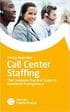 Call Center Staffing: The Complete Practical Guide to Workforce Management